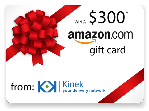 Amazon.com gift card giveaway